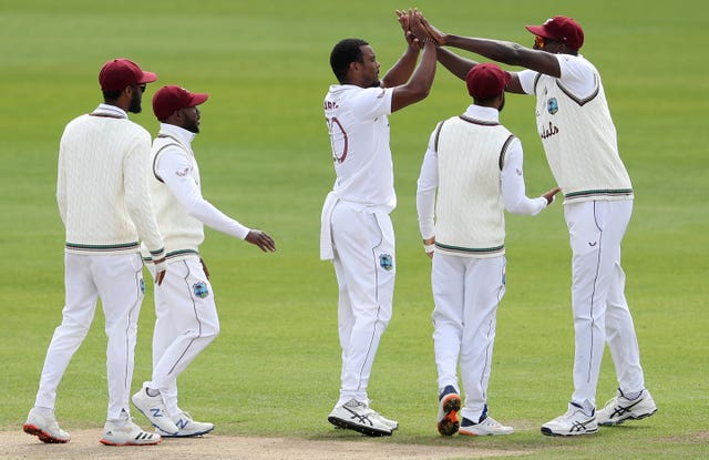 The West Indies deserve no end of gratitude for travelling to play in this series (Martin Rickett/PA)