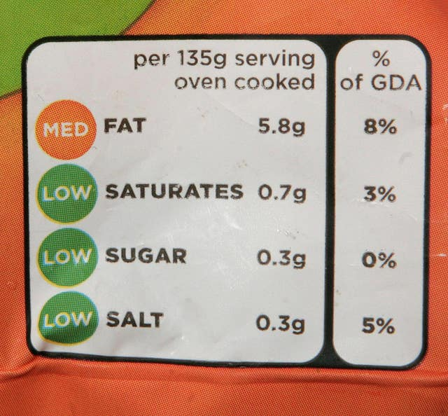 Food labelling campaign