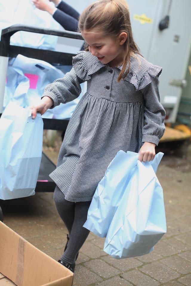 Princess Charlotte's fifth birthday