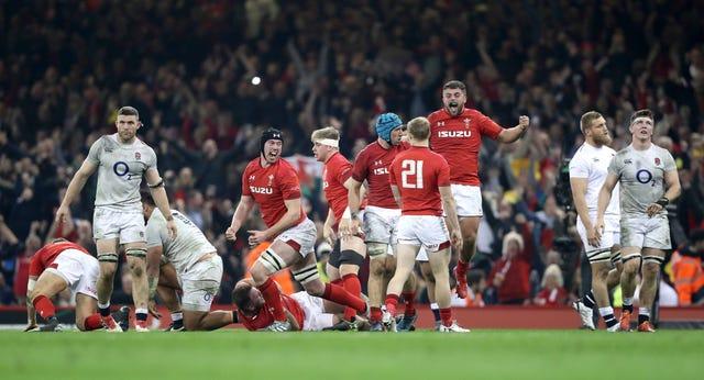 England were beaten in Cardiff last year