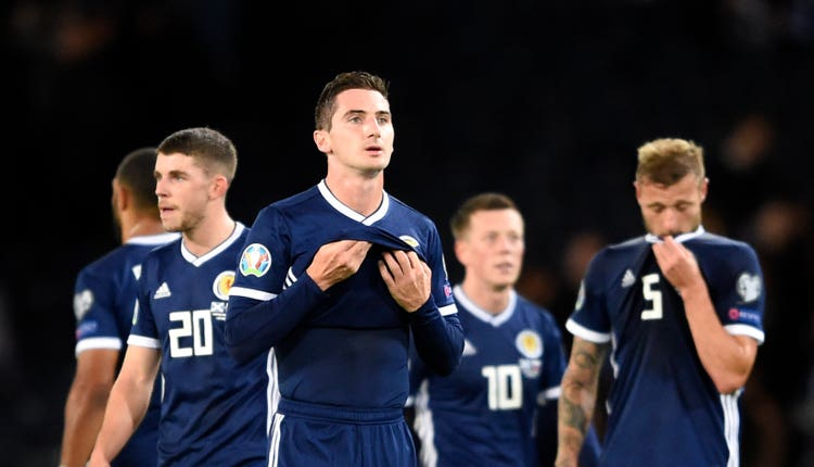 Kenny McLean could start