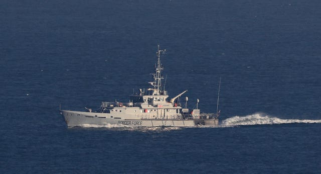 A Border Force cutter