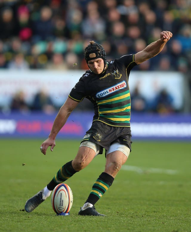 Piers Francis in action for Northampton