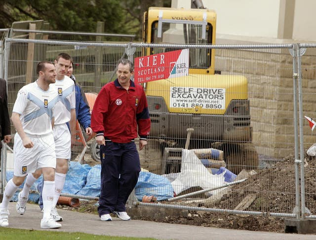 Kris Boyd (left) withdrew from Scotland duty after a row with national team boss George Burley
