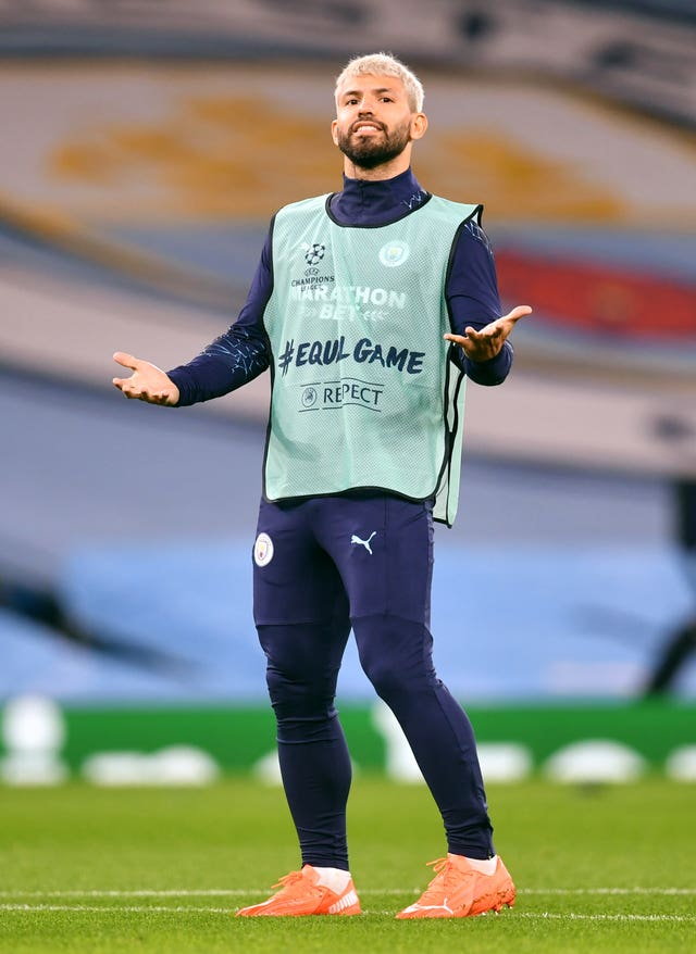 City must again make do without Sergio Aguero this weekend