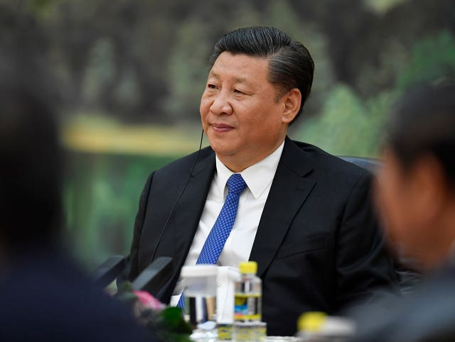 Chinese President Xi Jinping had hinted restrictions would be eased (Naohiko Hatta/AP)
