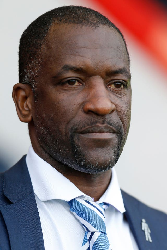 Chris Powell during his time in charge of Huddersfield
