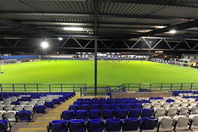 Barrow are hoping to take Bury's place in the Football League