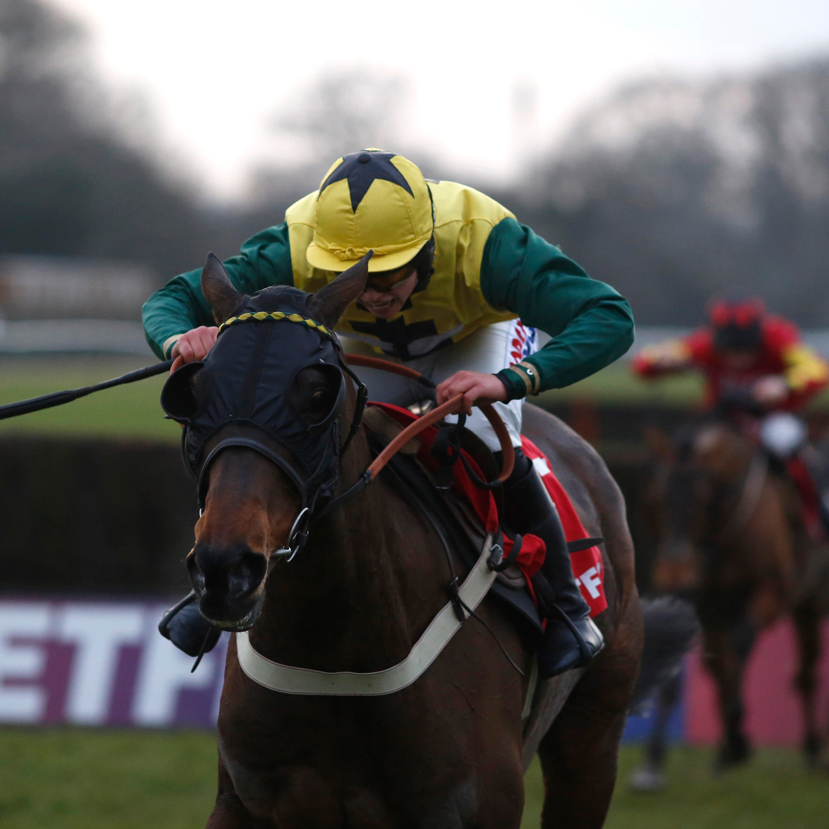 Milansbar on his way to winning last year's Classic Chase