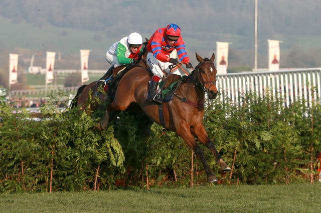 Balthazar King on the way to Cheltenham Festival glory