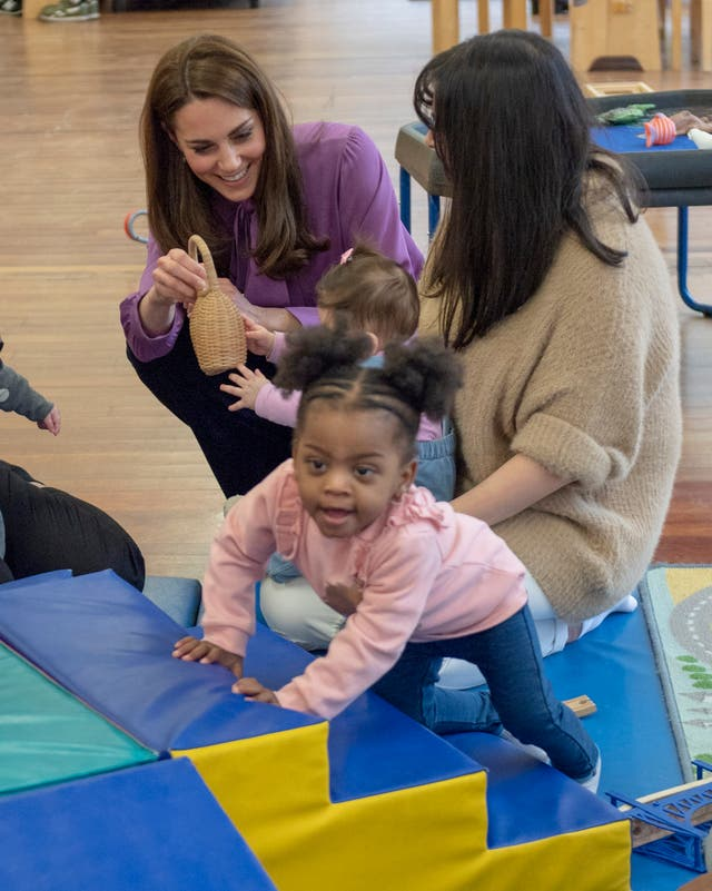 Kate at Henry Fawcett Children's Centre