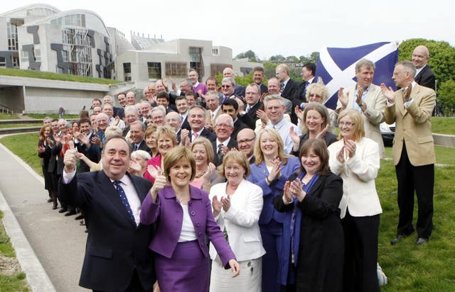 New Scottish government