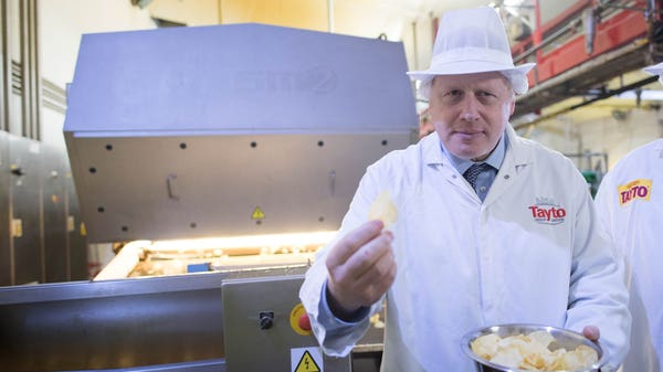 Johnson tells Northern Ireland businesses to 'bin' customs forms
