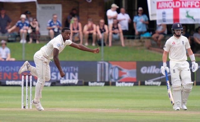 Kagiso Rabada will miss the final Test against England following his ban