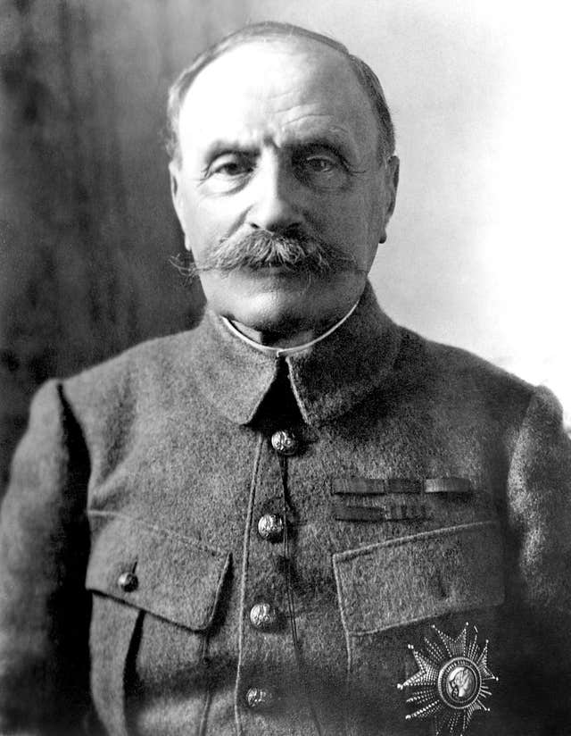 The appointment of Marshal Foch as Supreme Allied Commander was a pivotal point in the First World War (PA)
