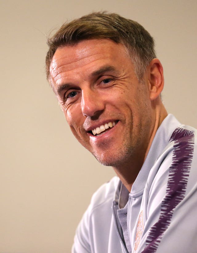 Phil Neville wants to lead England into the next Women's World Cup