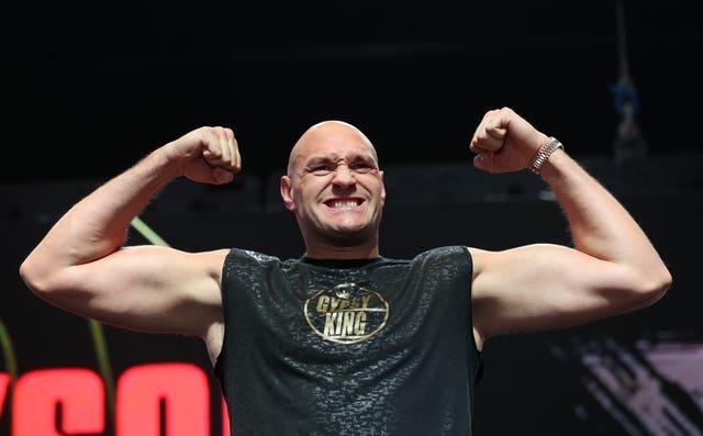 Tyson Fury File Photo
