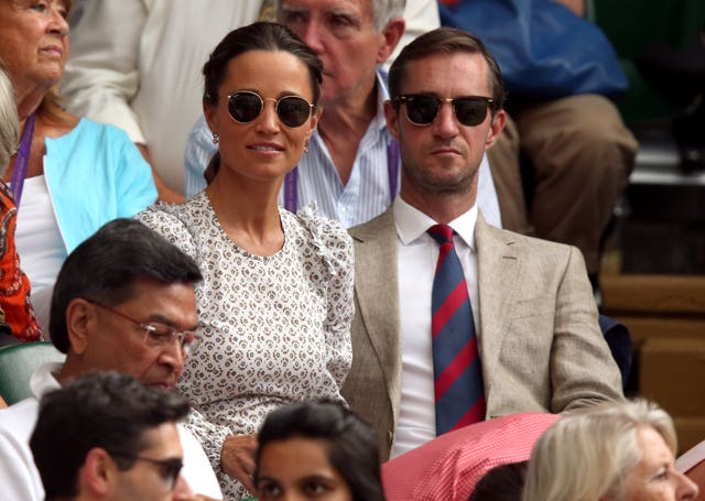 Pippa and James Matthews