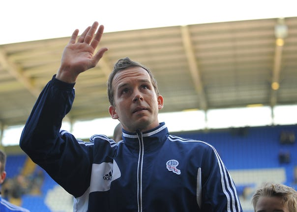 Kevin Davies spent 10 years with Bolton