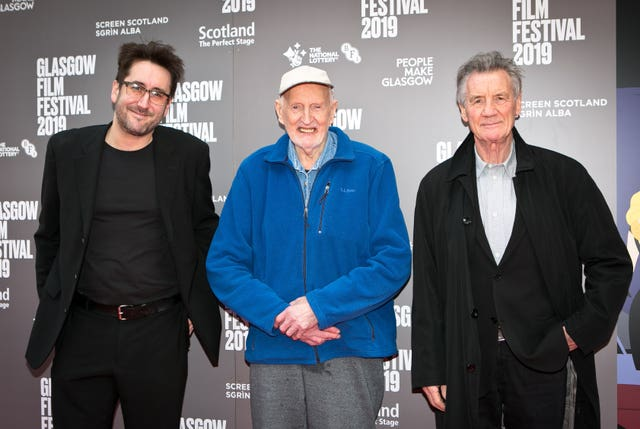 Robbie Fraser, Hamish MacInnes and Michael Palin