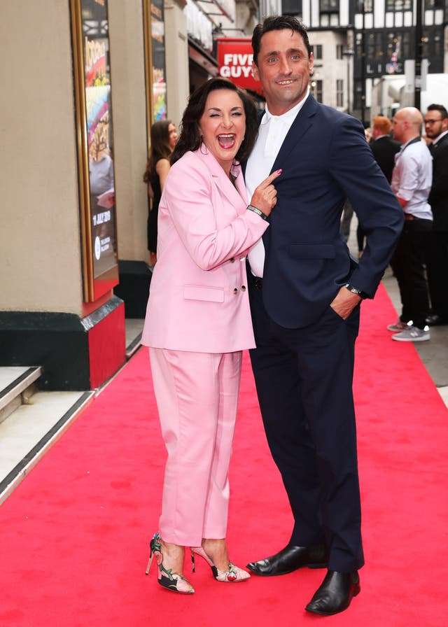 Shirley Ballas and Danny Taylor