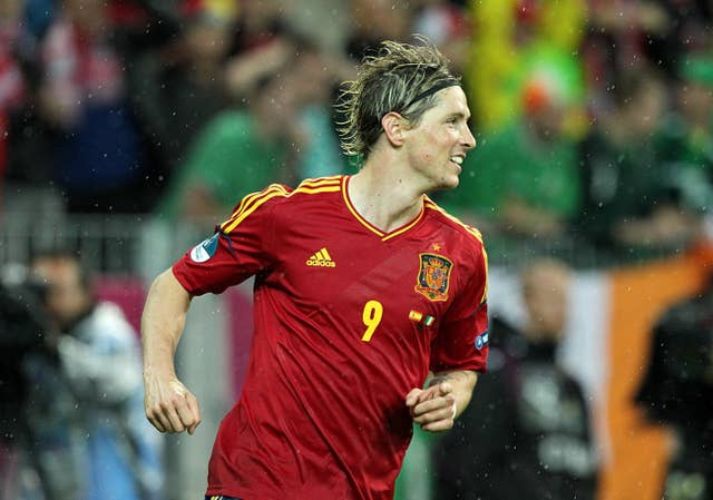 Torres was part of the Spain set-up who won the European Championships of 2008 and 2012, and the World Cup in 2010