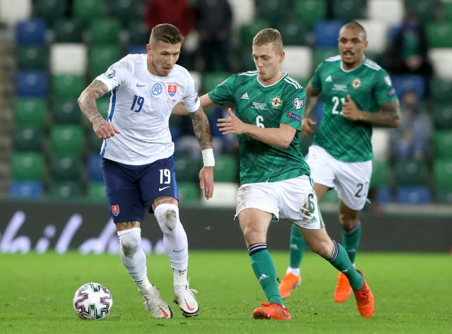 Northern Ireland v Slovakia – UEFA Euro 2020 – Play-offs – Final – Windsor Park