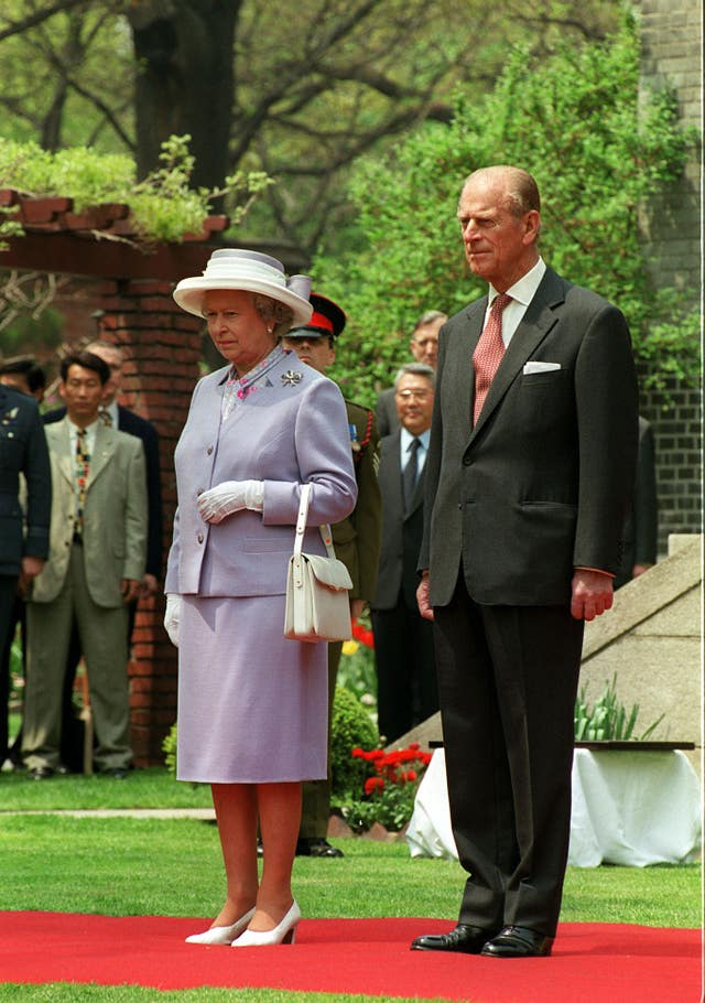 Royalty – Queen Elizabeth II State Visit to South Korea