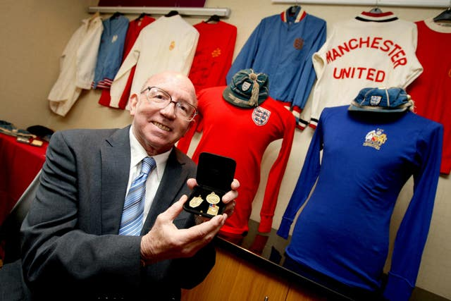 Nobby Stiles sold his medals in to raise money