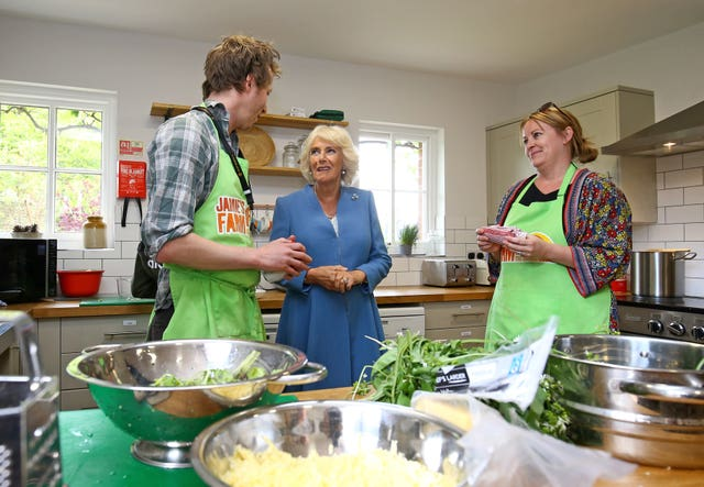 Duchess of Cornwall visits East Sussex