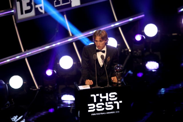 Luka Modric collected The Best FIFA Men's Player Award  2018 in London last month.