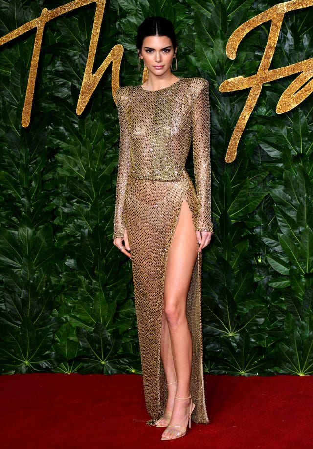 Kendall Jenner at the Fashion Awards 2018 – London
