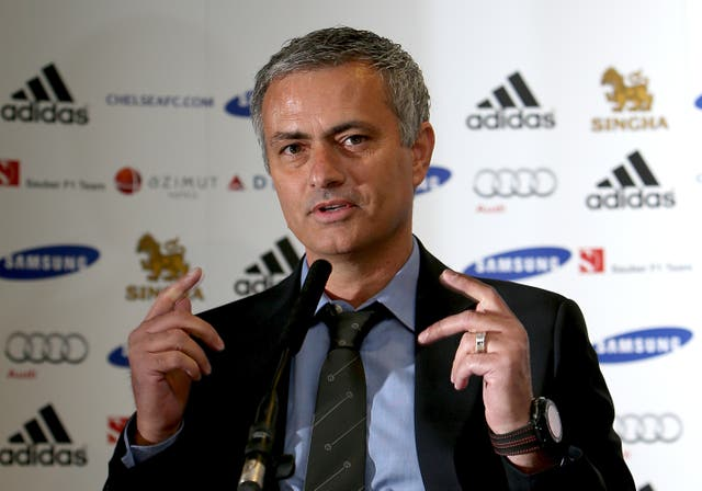 Mourinho returned to Chelsea for a second spell in 2013