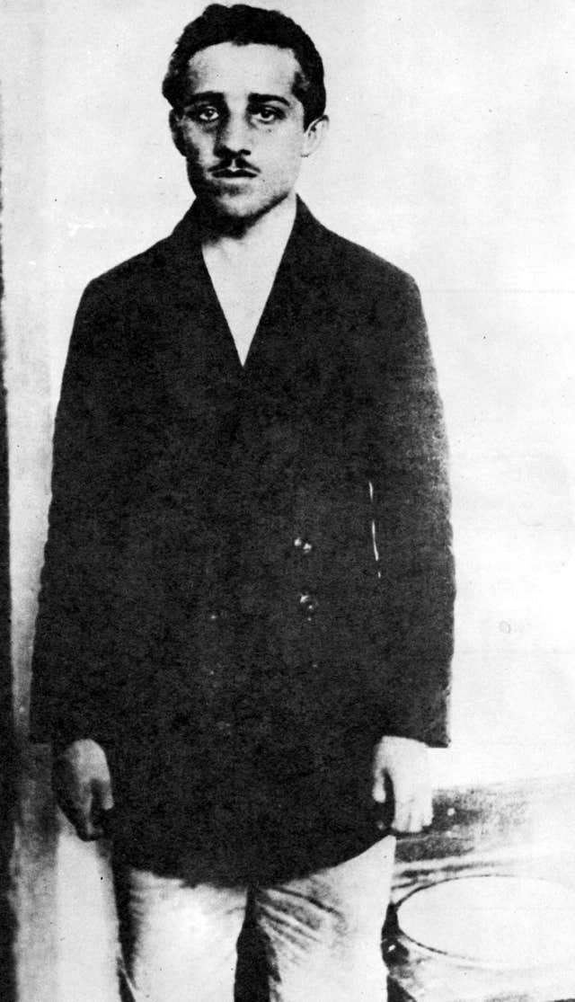 Gavrilo Princip, the man who killed Austria-Hungary's Arch Duke Franz Ferdinand