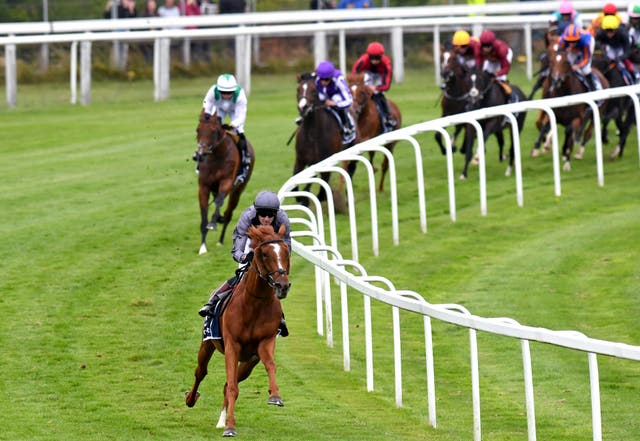 Serpentine turns for home with a clear lead at Epsom