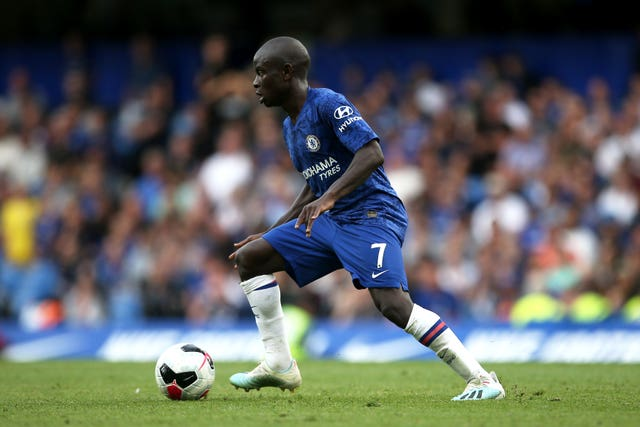 N'Golo Kante is an energetic presence in Chelsea's midfield