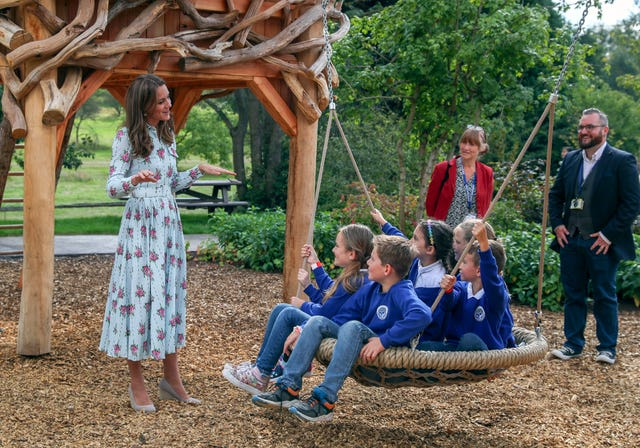 Duchess Of Cambridge visits RHS Wisley