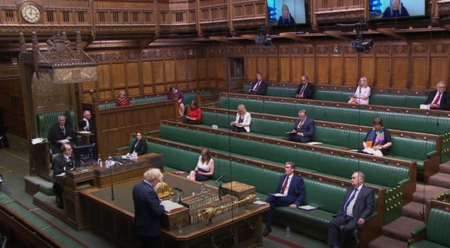 PMQs in the Commons