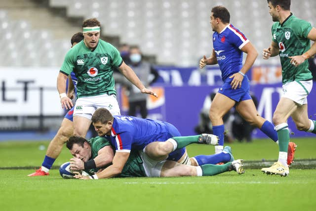 Defeat in Paris ended Ireland's hopes of Six Nations glory