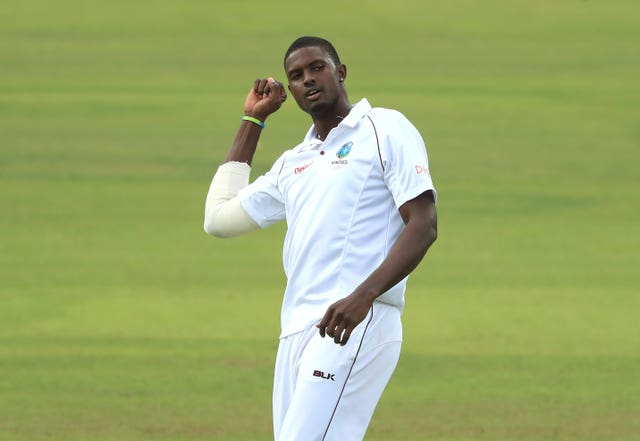 Jason Holder is number one in the International Cricket Council Test all-rounder rankings (Adam Davy/PA)