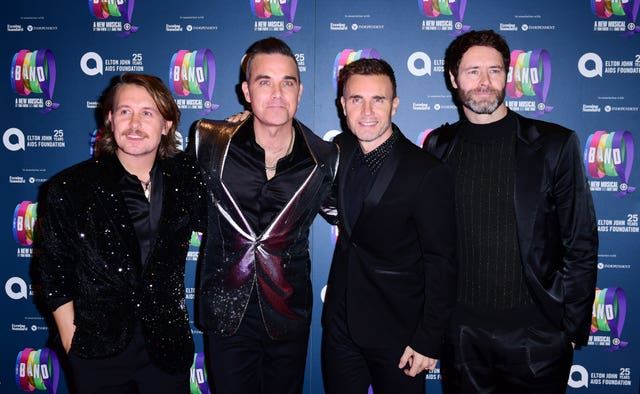Take That online charity concert
