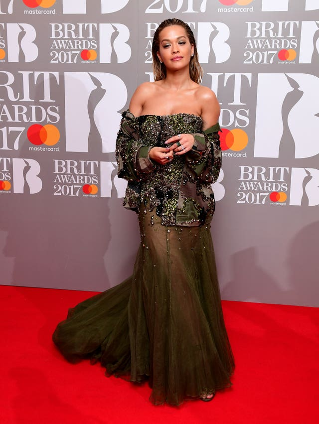 Brit Awards 2017 – Arrivals – London