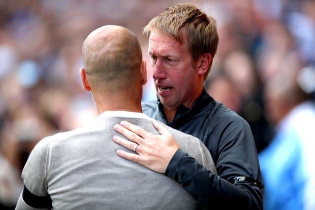 Manchester City v Brighton and Hove Albion – Premier League – Etihad Stadium