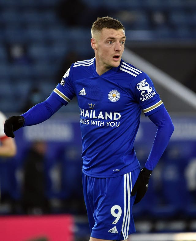 Jamie Vardy is recovering from hernia surgery