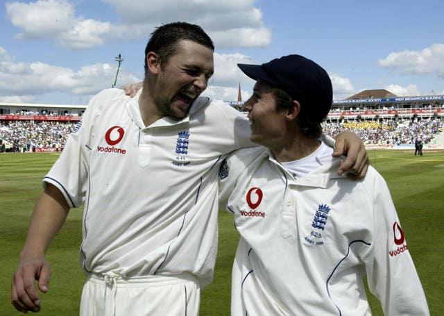 Steve Harmison and Geraint Jones