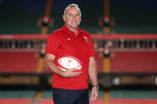 Wayne Pivac takes over after the World Cup