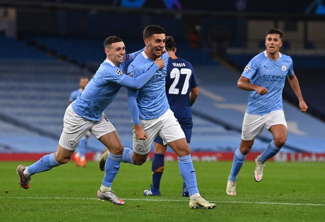 City opened their Champions League campaign with victory over Porto