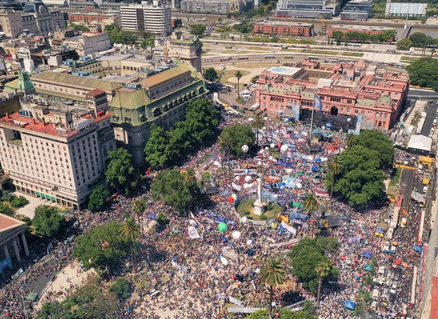 Argentina Presidential Inauguration