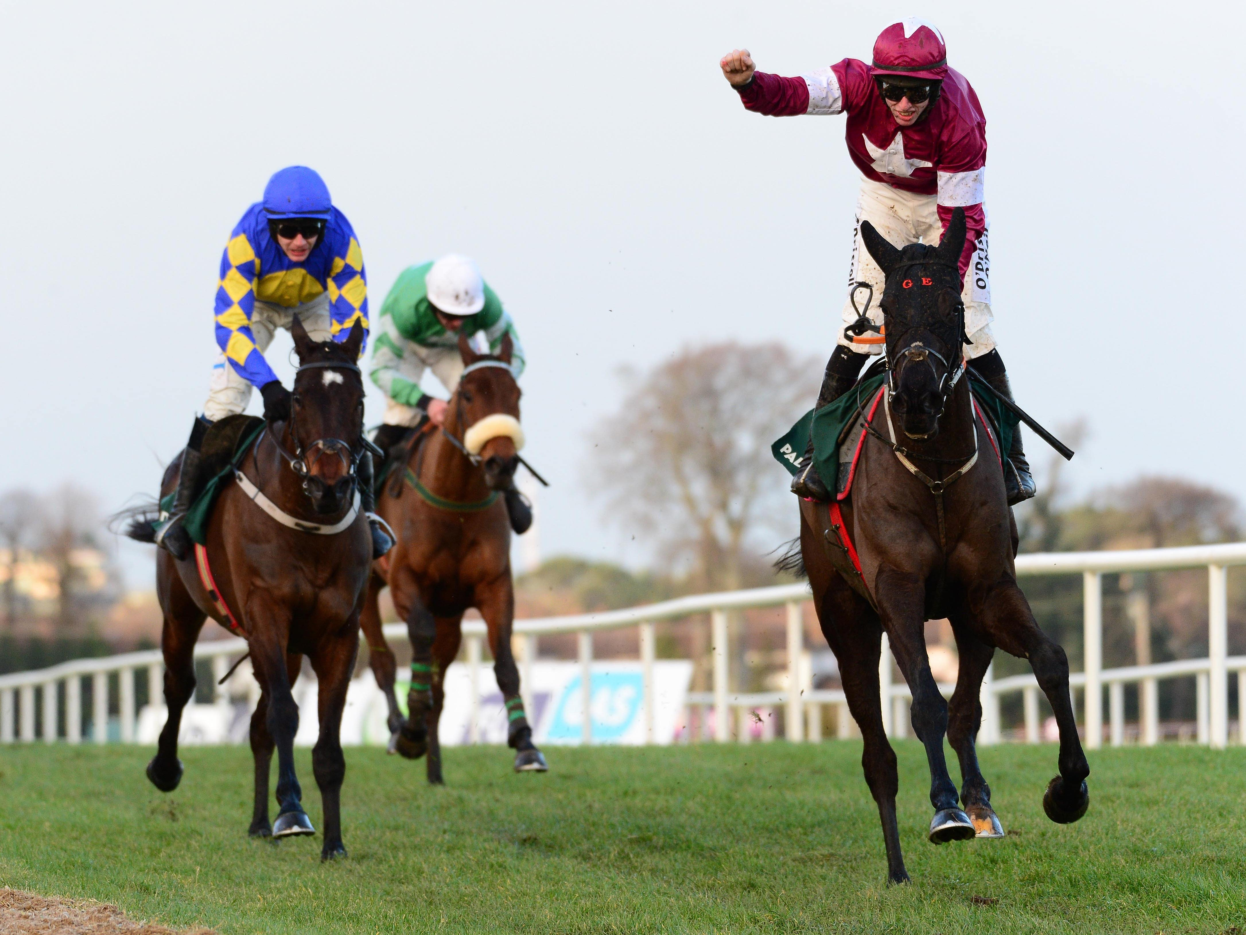 Delta Work (right) is on course to reappear at Down Royal (PA)