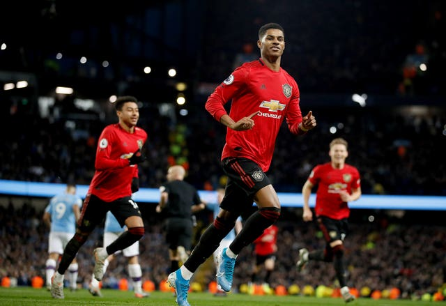 Marcus Rashford tormented the City defence